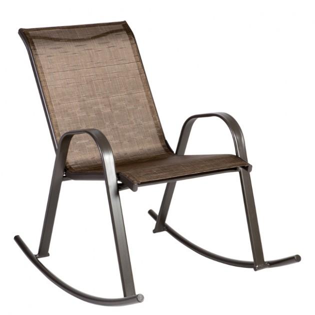 На фото: Садове крісло-качалка Dublin (11840), Вуличні крісла-гойдалки Garden4You, каталог, ціна