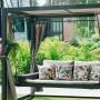 На фото: Підвісний диван Barcelona (13255), Вуличні дивани Garden4You, каталог, ціна