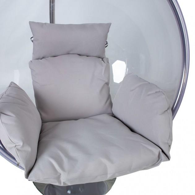 На фото: Прозоре підвісне крісло Bubble (28035), Підвісні крісла Garden4You, каталог, ціна