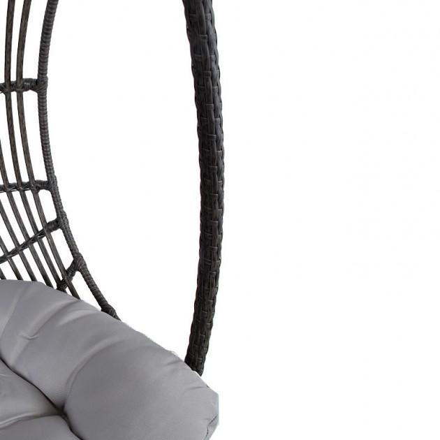 На фото: Двомісне підвісне крісло Chestnut (28089), Крісла зі штучного ротангу Garden4You, каталог, ціна