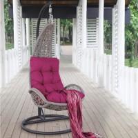 На фото: Підвісне крісло Tempio (20981), Крісла зі штучного ротангу Garden4You, каталог, ціна