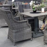 На фото: Кресло с подушками Geneva (11860), Крісла зі штучного ротангу Garden4You, каталог, ціна