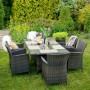 На фото: Крісло Dark Brown (12699), Крісла зі штучного ротангу Garden4You, каталог, ціна