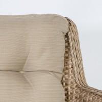 На фото: Столовий комплект Retro (k13693), Столові комплекти зі штучного ротангу Garden4You, каталог, ціна