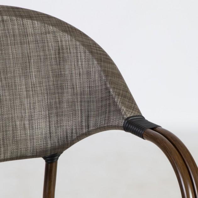 На фото: Стілець Bambus (18624), Стільці з текстилену Garden4You, каталог, ціна