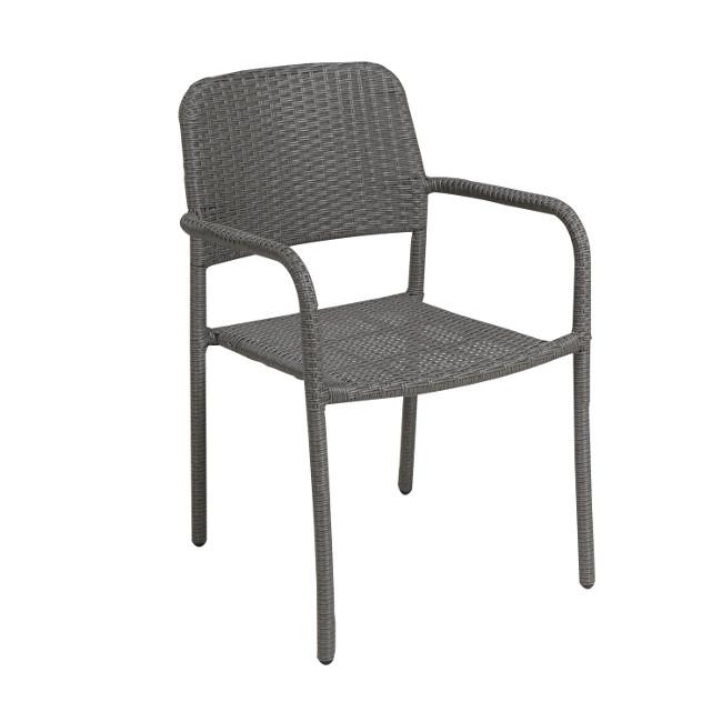На фото: Стілець Bistro (2056), Стільці зі штучного ротангу Garden4You, каталог, ціна