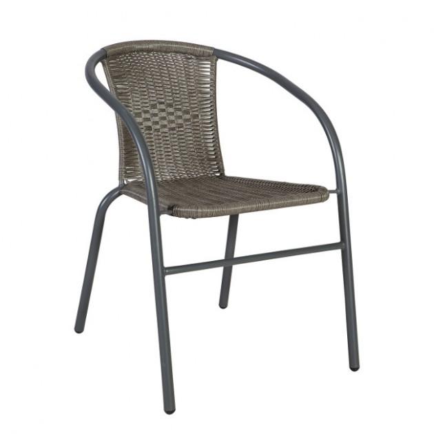 На фото: Стілець Bistro (20563), Стільці зі штучного ротангу Garden4You, каталог, ціна