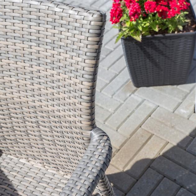 На фото: Стілець Larache (2102), Стільці зі штучного ротангу Garden4You, каталог, ціна