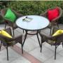 На фото: Стул Solar (21059), Стільці зі штучного ротангу Garden4You, каталог, ціна