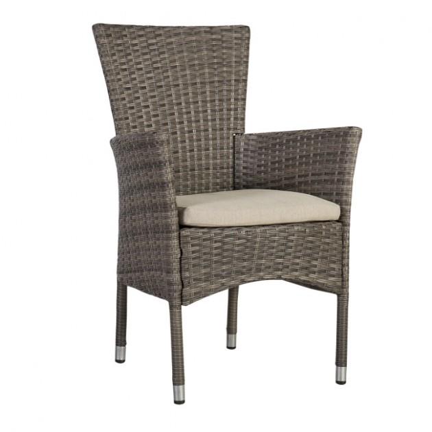 На фото: Ротанговий стілець Paloma (21135), Стільці зі штучного ротангу Garden4You, каталог, ціна