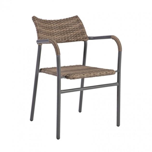 На фото: Столовий комплект Greenwood (k21223), Столові комплекти зі штучного ротангу Garden4You, каталог, ціна