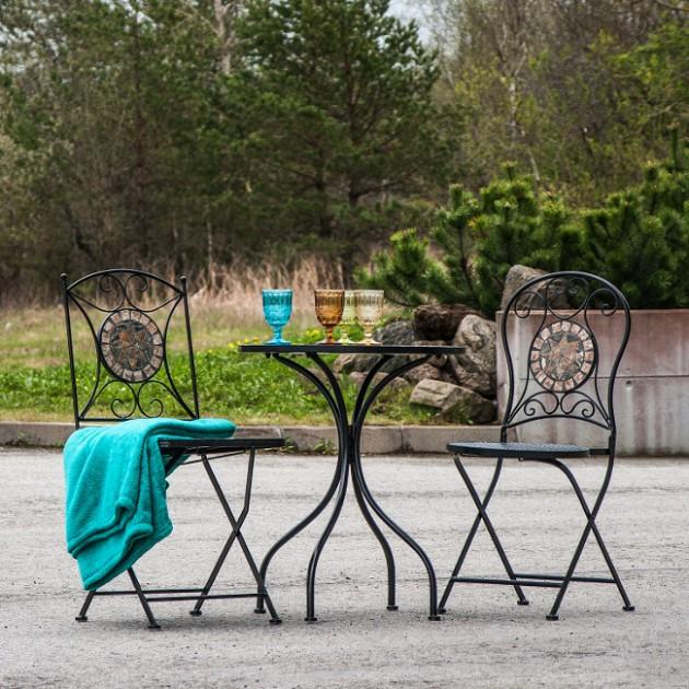 На фото: Складаний стілець Mosaic (38666), Недорогі стільці Garden4You, каталог, ціна