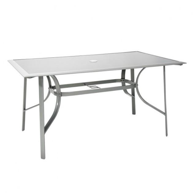 На фото: Обідній стіл Denver (10446), Вуличні столи Garden4You, каталог, ціна