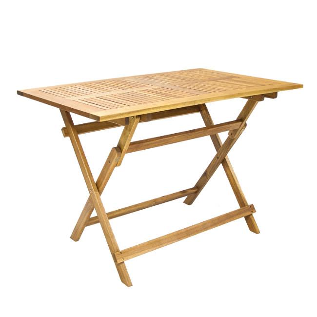 На фото: Стіл Finlay (13180), Дерев'яні столи Garden4You, каталог, ціна