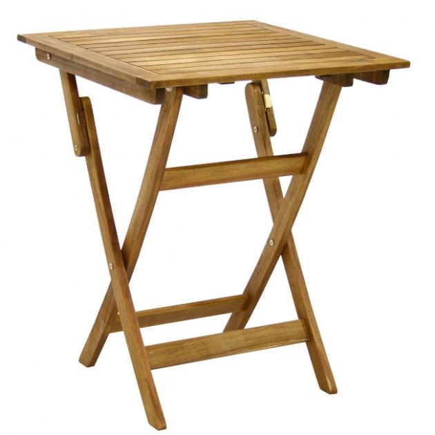 На фото: Квадратний стіл Finlay (13186), Квадратні столи Garden4You, каталог, ціна