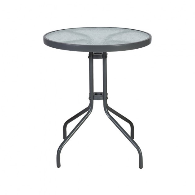 На фото: Стіл Bistro (20561), Столи зі штучного ротангу Garden4You, каталог, ціна