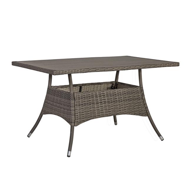 На фото: Обідній стіл Paloma (21132), Столи зі штучного ротангу Garden4You, каталог, ціна