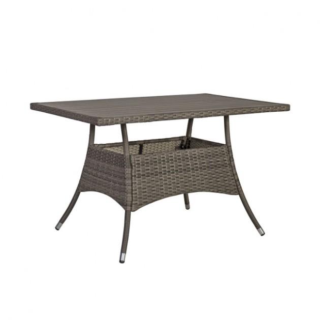 На фото: Обідній стіл Paloma (21133), Столи зі штучного ротангу Garden4You, каталог, ціна