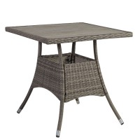 На фото: Квадратний стіл Paloma (21134), Столи зі штучного ротангу Garden4You, каталог, ціна