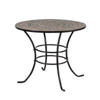 На фото: Круглий садовий стіл Mosaic (38668), Круглі столи Garden4You, каталог, ціна