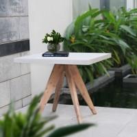 На фото: Стіл Sandstone (72528), Квадратні столи Garden4You, каталог, ціна
