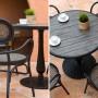 На фото: Столовий комплект Bolgheri (k18642), Вуличні столові комплекти Garden4You, каталог, ціна