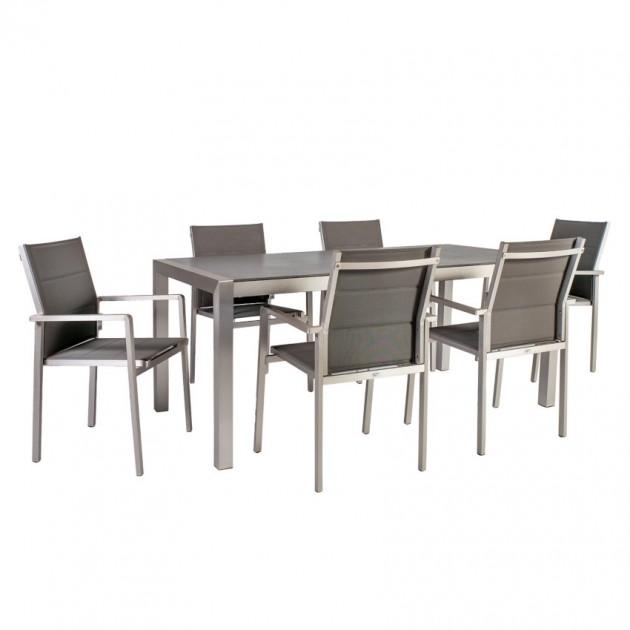 На фото: Столовий комплект Cedric (k21205), Столові комплекти з текстилену Garden4You, каталог, ціна