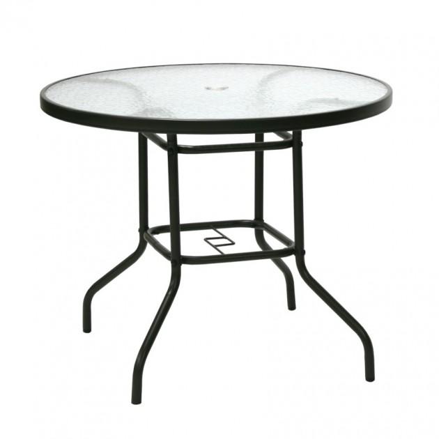 На фото: Круглий стіл Dublin (11872), Круглі столи Garden4You, каталог, ціна
