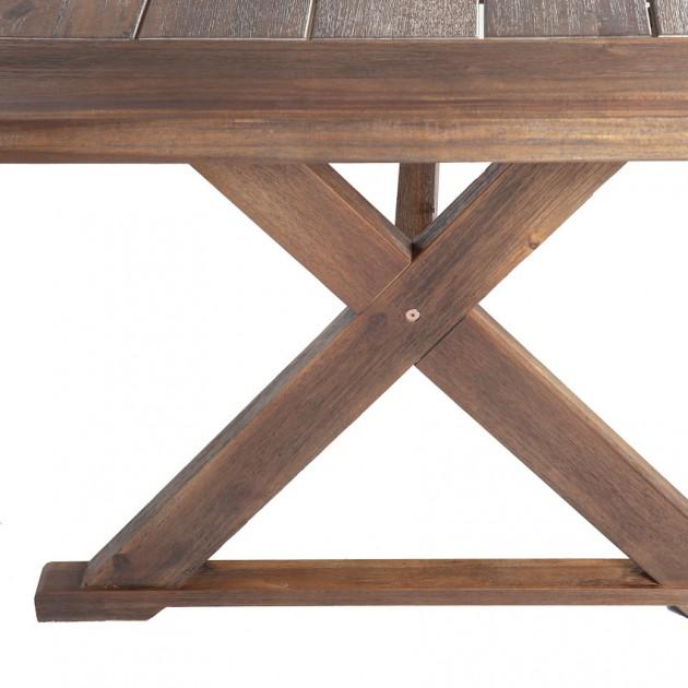 На фото: Садовий стіл Farmer (13307), Дерев'яні столи Garden4You, каталог, ціна