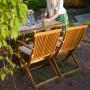 На фото: Столовий комплект Finlay (k131801), Столові комплекти з дерева Garden4You, каталог, ціна