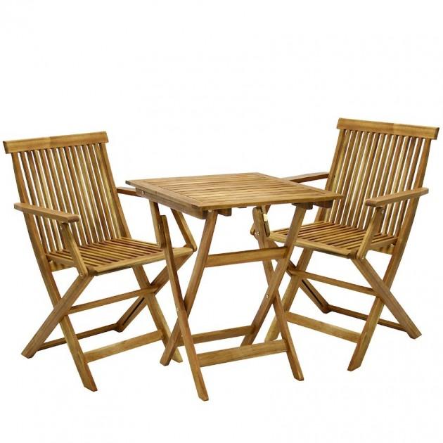 На фото: Столовий комплект Finlay (k131861), Столові комплекти з дерева Garden4You, каталог, ціна