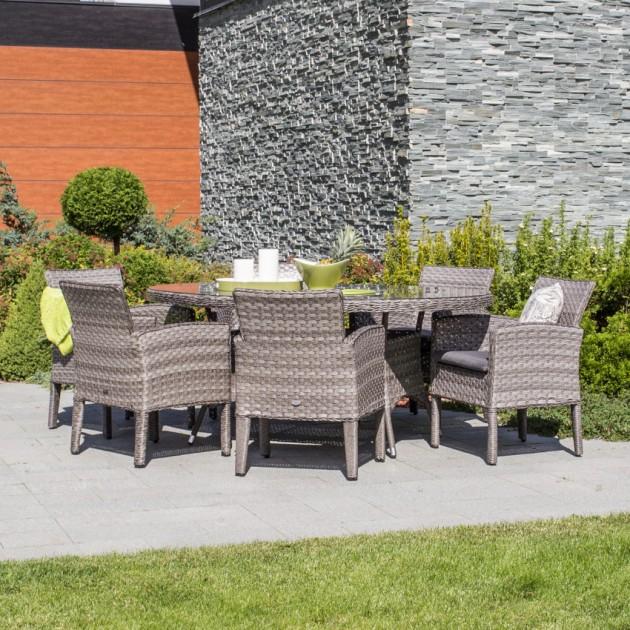 На фото: Столовий комплект Geneva (k11970), Geneva Garden4You, каталог, ціна