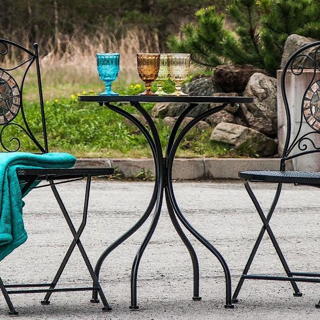 На фото: Столовий комплект Mosaic (k386641), Комплекти для балкону Garden4You, каталог, ціна