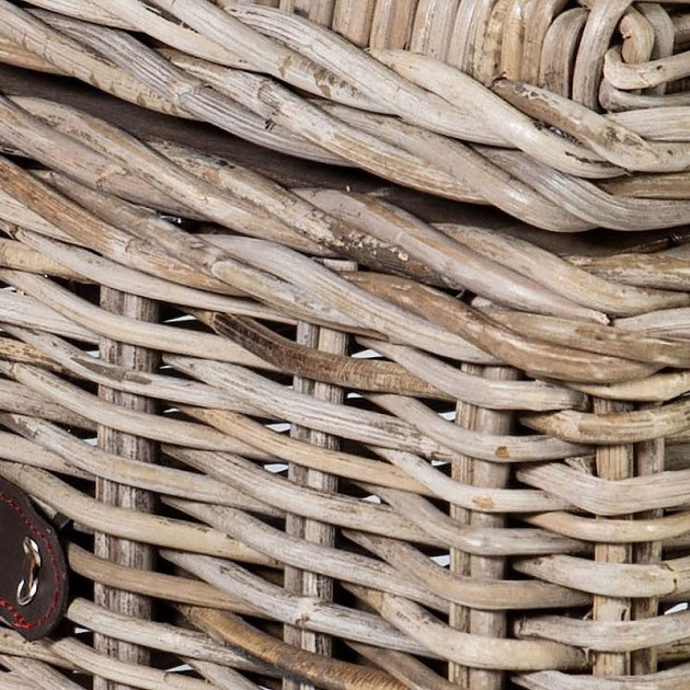 На фото: Плетена скриня Anker (42034), Сундуки і великі кошики Home4You, каталог, ціна