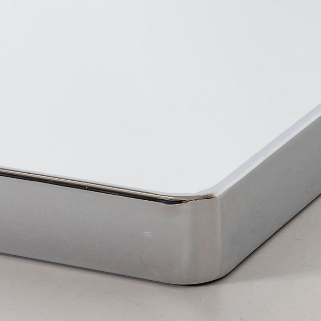 На фото: Настінне дзеркало Crystal Chrome (13973), Ширми і дзеркала Home4You, каталог, ціна