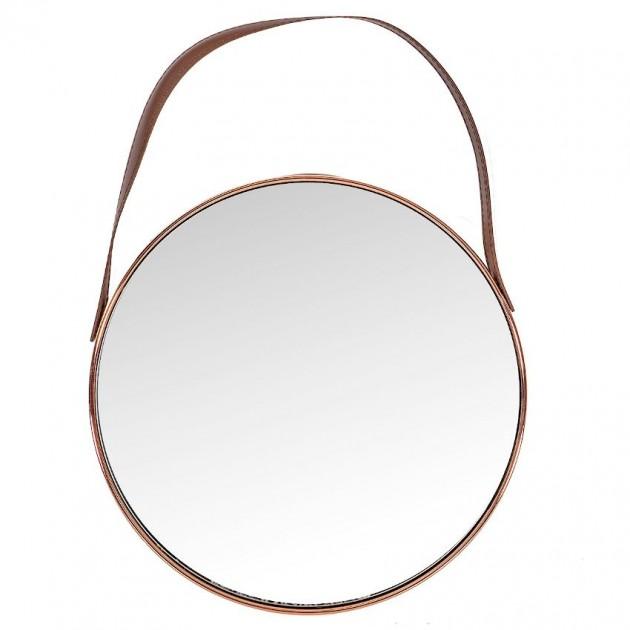 На фото: Настінне дзеркало Crystal Cooper (13976), Ширми і дзеркала Home4You, каталог, ціна