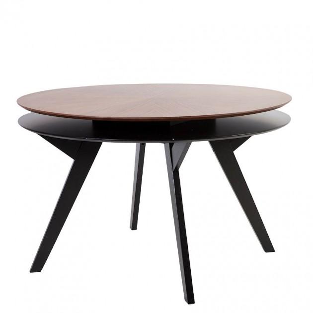 На фото: Круглий стіл Eleanor (20781), Обідні столи Home4You, каталог, ціна