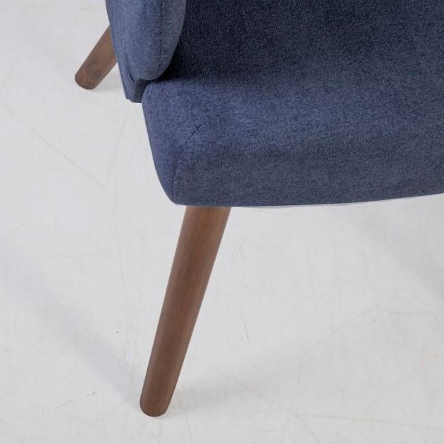 На фото: Крісло Eleanor Blue (20783), М'які крісла Home4You, каталог, ціна