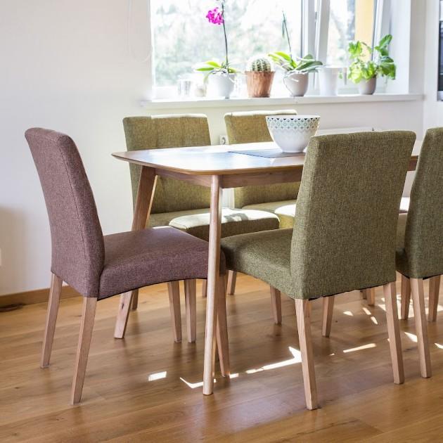 На фото: Стілець для кухні Enrich Green (k20895), М'які стільці Home4You, каталог, ціна