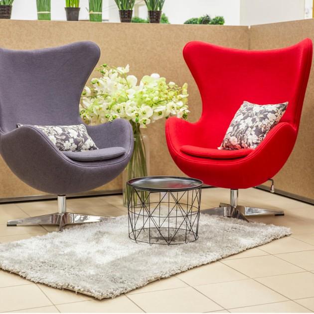 На фото: М'яке крісло Grand Star Red (39012), М'які крісла Home4You, каталог, ціна