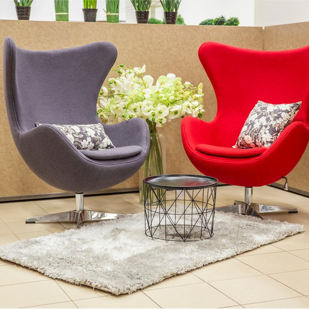 На фото: М'яке крісло Grand Star Dark Grey (39011), М'які крісла Home4You, каталог, ціна