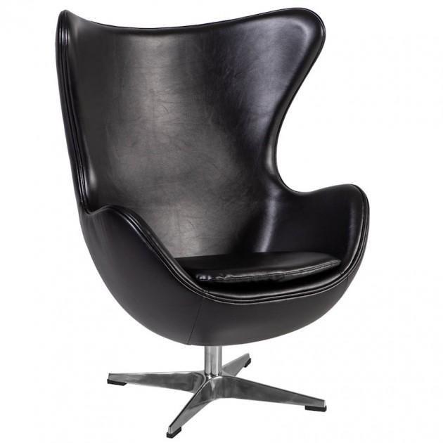 На фото: М'яке крісло Grand Star Black (39015), М'які крісла Home4You, каталог, ціна