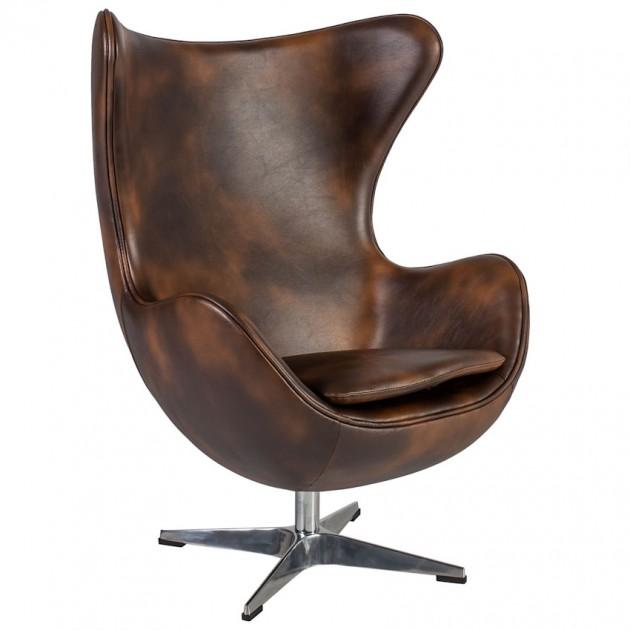 На фото: М'яке крісло Grand Star Brown (39016), М'які крісла Home4You, каталог, ціна