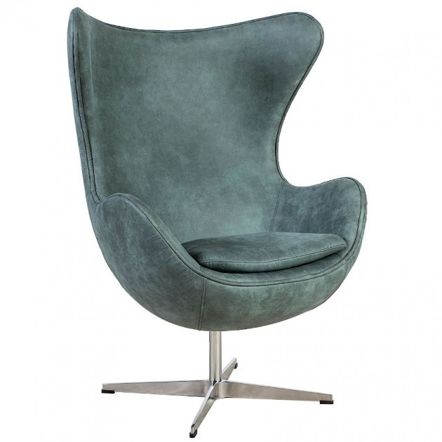 На фото: Крісло Grand Antique Green (37042), М'які крісла Home4You, каталог, ціна