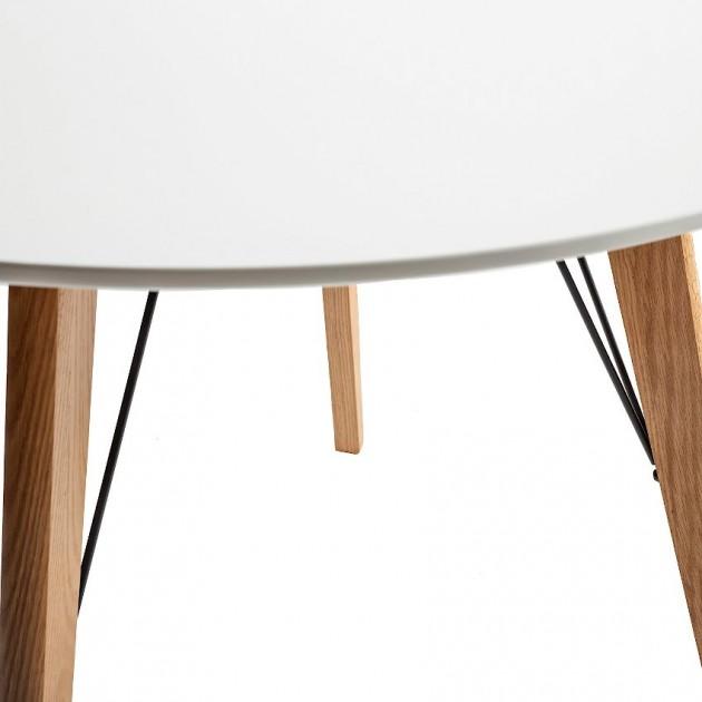 На фото: Обідній стіл Helena (20047), Обідні столи Home4You, каталог, ціна