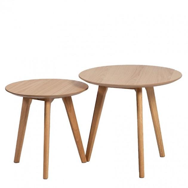 На фото: Набір столиків Helena (20068), Журнальні столики Home4You, каталог, ціна