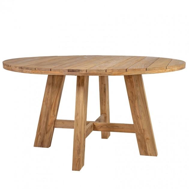 На фото: Обідній стіл Katalina (42055), Дерев'яні столи Home4You, каталог, ціна
