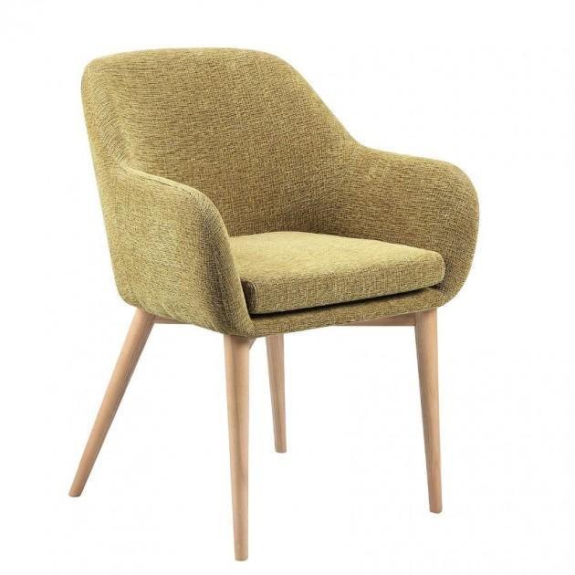 На фото: Крісло Monica Light Green (k20222), М'які крісла Home4You, каталог, ціна