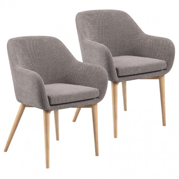 На фото: Крісло Monica Light Grey (k20223), М'які крісла Home4You, каталог, ціна
