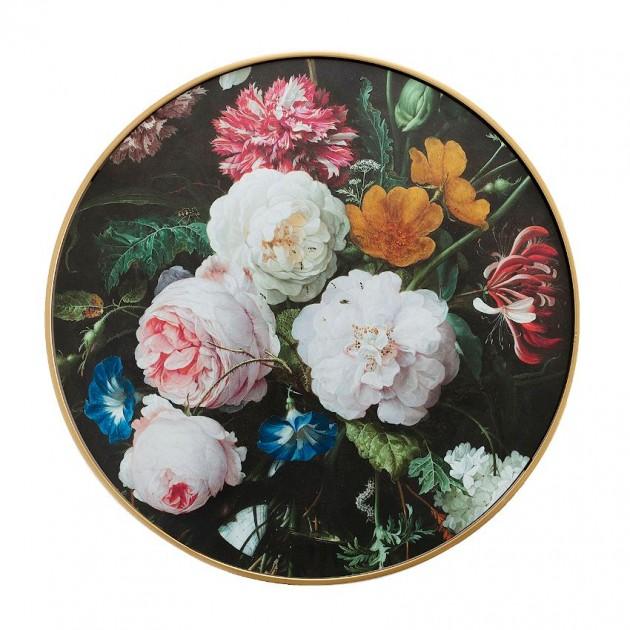 На фото: Столик Porta Peonies (86701), Допоміжні столики Home4You, каталог, ціна
